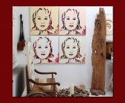 Kunst im Atelier